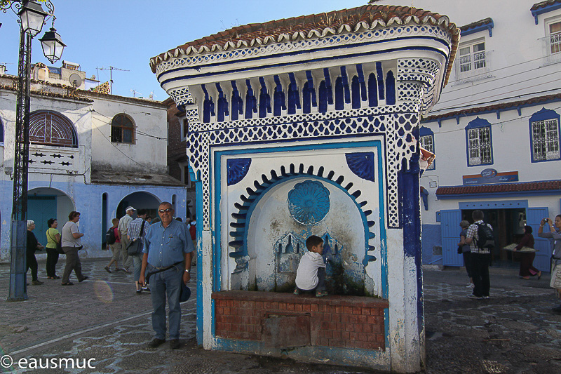 Mein Vater in Chefchaouen