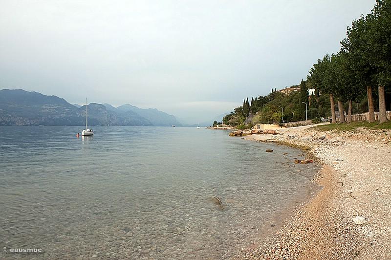 Blick über den Gardasee