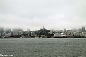 San Francisco im Nebel